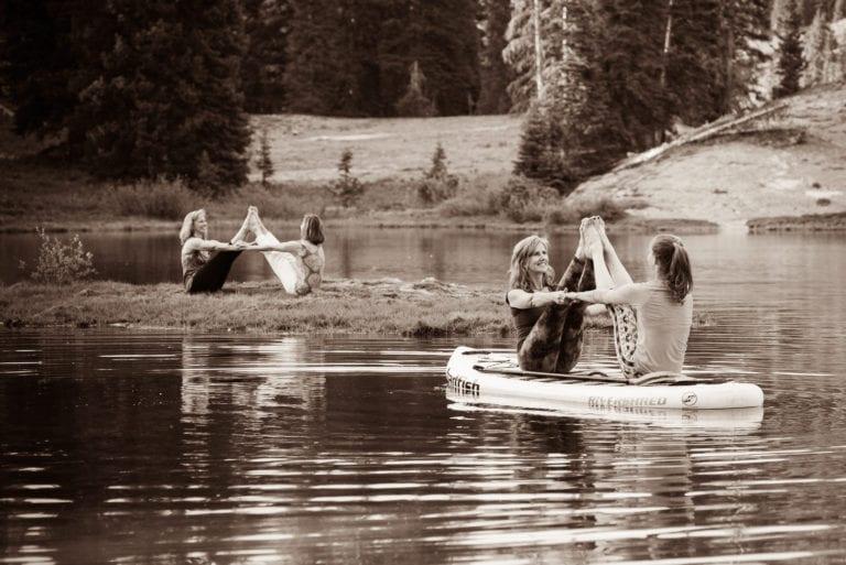 Yoga Teachers at Lake Irwin