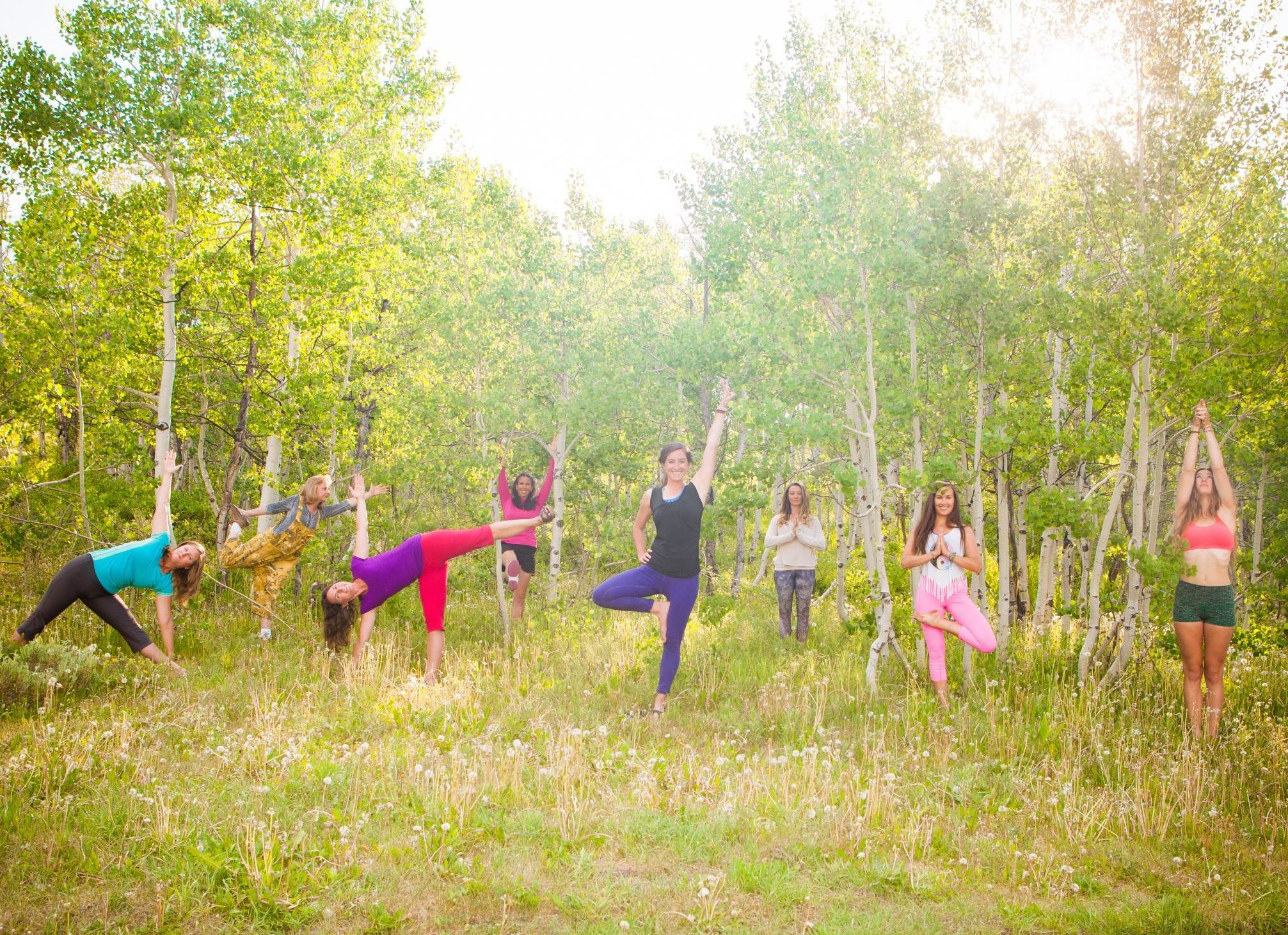 Yoga Teachers at Woods Walk