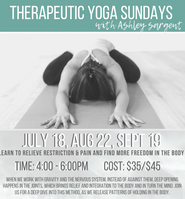 therapeutic yoga, colorado yoga, luciana ross, thrive yoga crested butte, crested butte yoga
